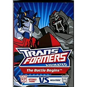 Transformers animated the battle begins - Transformers cartoon optimus prime vs megatron ...