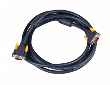 VGA Cable de extensión macho a macho coaxial Video Cable para Monitor HD15 SVGA con núcleos