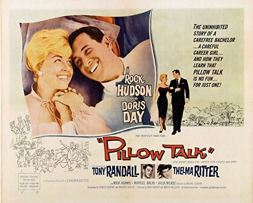 Pillow Talk Movie Poster or Canvas by EuroGraphics
