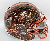 Jim Brown Autographed Cleveland Browns Full Size Authentic Schutt Helmet w/Schwartz COA