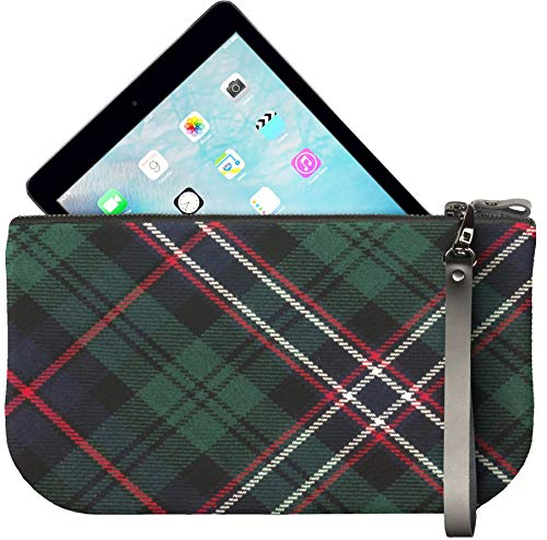 To National Scotland Enough Large Bag Fit Ipad Tartan Mini Clutch Small Leather qHxI8wTw6