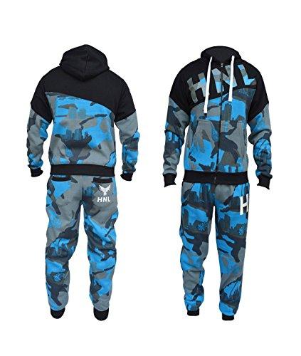 new mens boys designer zipped top bottoms jogging suits tracksuits s-xl