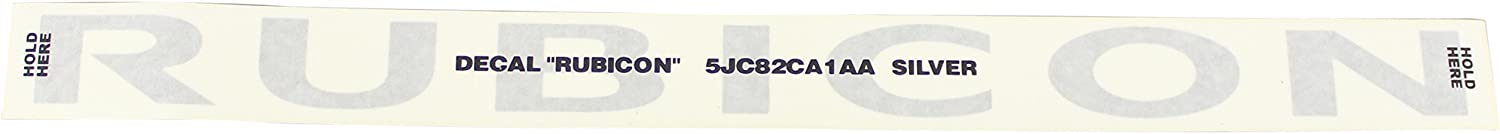 Genuine Mopar Decal 5JC82CA1AA
