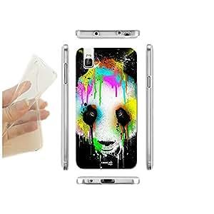 caselabdesigns carcasa funda blanda Panda Splatter para Huawei Honor 7i TPU–Concha de silicona protectora antigolpes