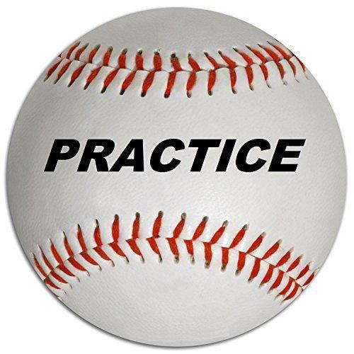 Diamond Genuine Leather Practice Baseballs (12 pack)