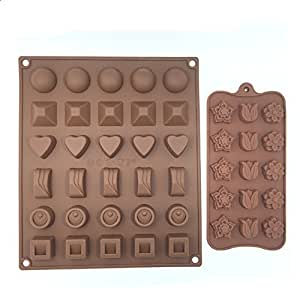Ice Pop Mold Cake Decorating Tools Chocolate Making Moulds