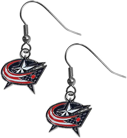 Siskiyou NHL Womens Dangle Earrings and Chain Necklace Set