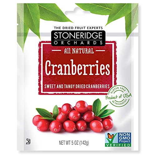 Stoneridge Orchards  Cranberries  Sweet   Tangy Dried Cranberries  5 Oz  142 G  Pack Of 3