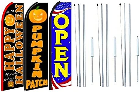 flowers King Swooper Feather Flag Sign Pack of 20 hardware not included