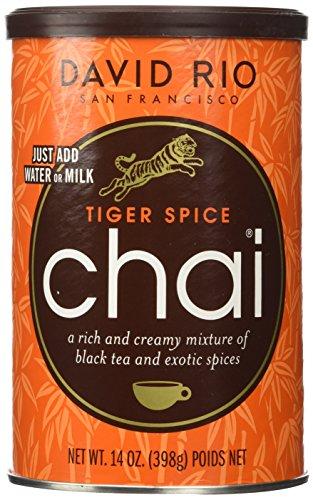 David Rio Tiger Spice Chai, 14oz. - 2 canisters