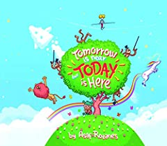 Tomorrow Is Near But Today Is Here: (Children's books about Anxiety/Sleep disorders/ADHD/Stress Relief/Worry, Picture Books,  Kids Books, Kindergarten Books, Ages 4 8) (Mindful Mia Book 2)