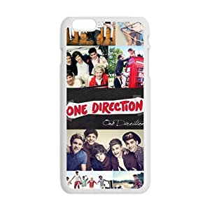 SANLSI One Direction Cell Phone Case for Iphone 6 Plus
