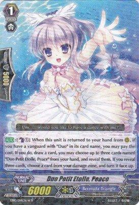 Cardfight!! Vanguard TCG - Duo Petit Etoile, Peace - White (EB10/014EN) - Extra Booster Pack 10: Divas Duet Petits Duos