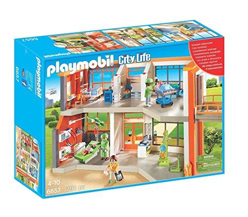 PLAYMOBIL Furnished Childrens Hospital Playset