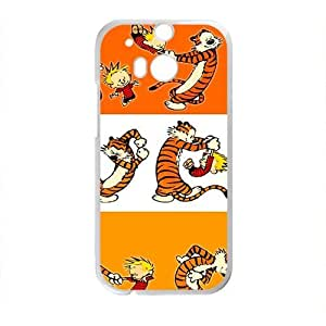 Calvin and tigger Cell Phone Case for HTC One M8