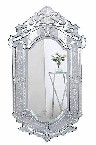 Elegant Decor MR-2003C Venetian Transitional Mirror, 27.6