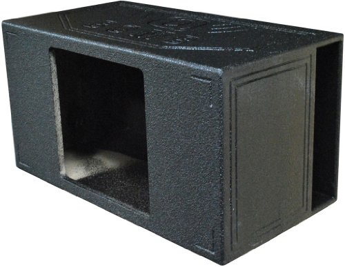Qpower Single 15'' Extra Large Vented QBOMB Square Hole - QBOMB15VLSINGSQ by Q Power