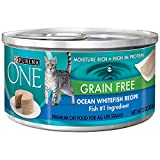 Purina One Grain Free Ocean Whitefish Recipe Moisture Rich,High in Protein (12 CANS) (NET WT 3 OZ EACH) Review