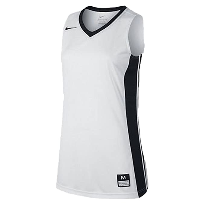 Amazon Com Nike Fastbreak Stock Women S Basketball Jersey White