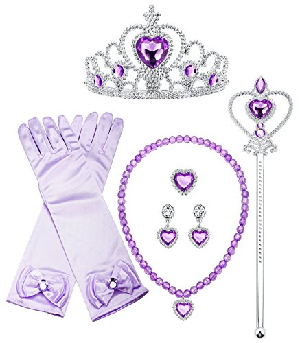 Finrezio Sofia Princess Cosplay Set Girls Costume Party