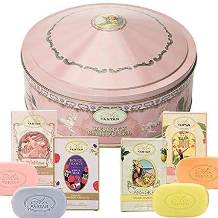 Caja Regalo Belleza Mujer 4 Jabones Manteca de Karite Organico , Aceite de Argan|4