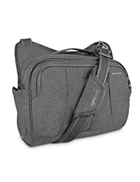 PACSAFE Metrosafe 275 GII tablet and laptop bag Under Seat, Tweed Grey