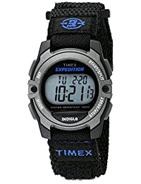 Timex Unisex TW4B024009J Expedition Stainless Steel Digital Watch with Nylon Band