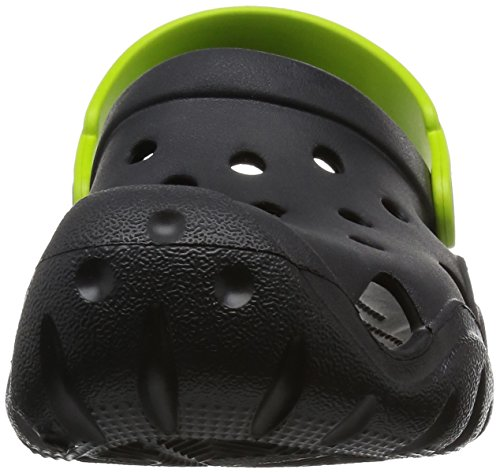 Bambini Clog Nero volt Per Green Zoccoli Unisex Kids black Crocs Swiftwater Yqp65F