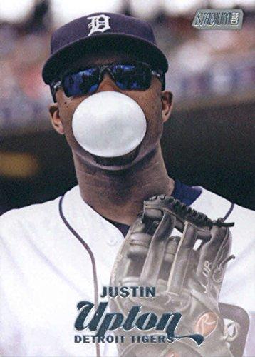 2017 Topps Stadium Club #189 Justin Upton Detroit Tigers Baseball Card