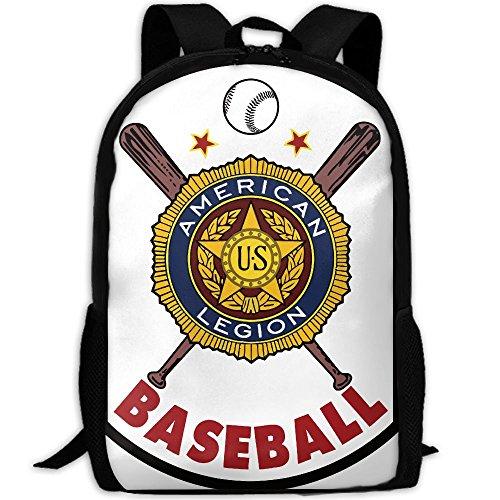 American Legion Baseball Interest Print Custom Unique Casual Backpack School Bag Travel Daypack Gift