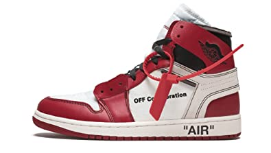 f4f7165d5d95be Luxury Chicago Bred Retro High Red White Popular The 10 Sneaker Air Sole  Women US5