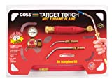 Goss KX-4B Soldering Brazing Torch Kit for ''B'' Acetylene Tanks with GA-5 and GA-14 Target Tips and Hot Turbine Flame