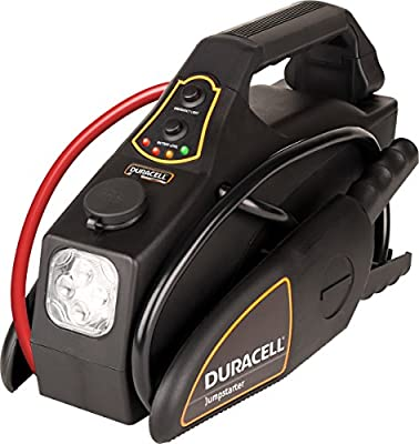 Duracell DRJS10 Black Portable Emergency Jump Starter