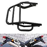 Alpha Rider Retro Style Black Rear Seat Luggage Rack Shelf Holder Rack Stock For Kawasaki KL250H KL250 Super Sherpa 250 KL