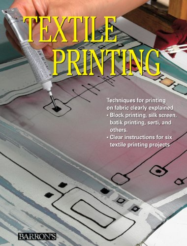 Textile Printing: Techniques for Printing on Fabric Clearly ()