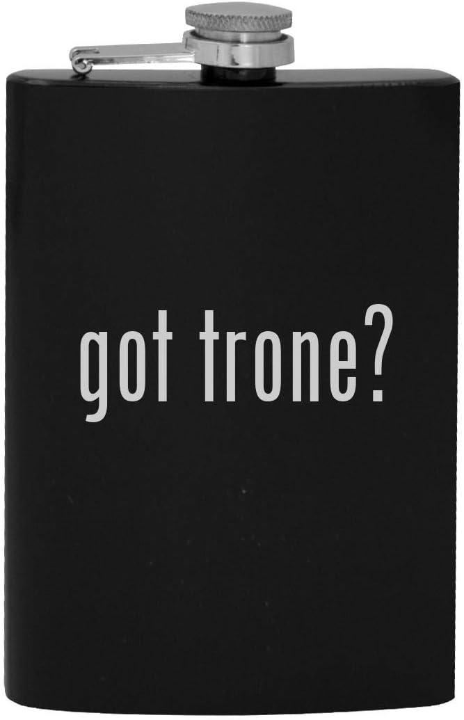 got trone? - 8oz Hip Drinking Alcohol Flask