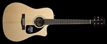 Guit acústica Fender Cd-60 Ce - Natural V2: Amazon.es: Instrumentos ...