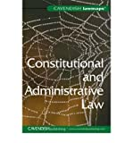 Law Map in Constitutional and Administrative Law, Cavendish Publishing Staff, 1859419690