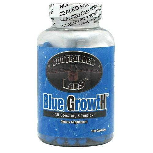 CONTROLLED LABS BLUE GROWTH - BOOSTER TESTOSTERONE - 150 CAPSULES