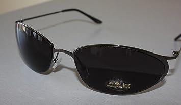 Neo Style de lunettes de soleil, son design sans coins ni rebords / Lentille fumée