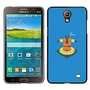 LECELL--Funda protectora / Cubierta / Piel For Samsung Galaxy Mega 2 -- No esta vez ancla --