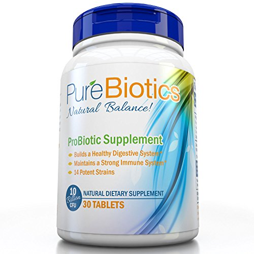 Pure Probiotics Supplement Digestion Immunity
