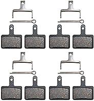 AHL 4pairs Bicycle Disc Brake Pads for Shimano M375 M395 M486 M485 M475 M416 M446 M515 M445 M525 for Tektro Aq