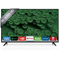 VIZIO D55u-D1 55 Class Ultra HD Full-Array LED Smart TV (Black)