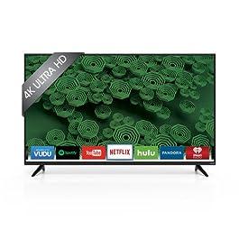 VIZIO D55u-D1 55″ Class Ultra HD Full-Array LED Smart TV (Black)