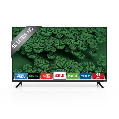 "VIZIO D55u-D1 55"" Class Ultra HD Full-Array LED Smart TV (Black)"