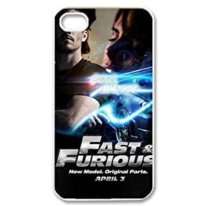 High Quality Phone Back Case Pattern Design 10Actor Paul Walker Precious Series- For Iphone 4 4S case cover