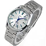 VIGOROSO FINEAT Mens Automatic Self Winding Mechanical Stainless Day Blue Analog Watch