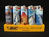 Bic Full Size Lighters Special Oudoor Series - 5 Pack