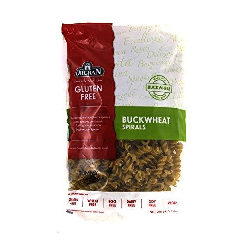 Orgran Buckwheat Spirals, 8.8 Ounce
